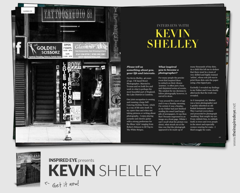 Inspired Eye Magazine - Street Photographer from the UK, Kevin Shelley