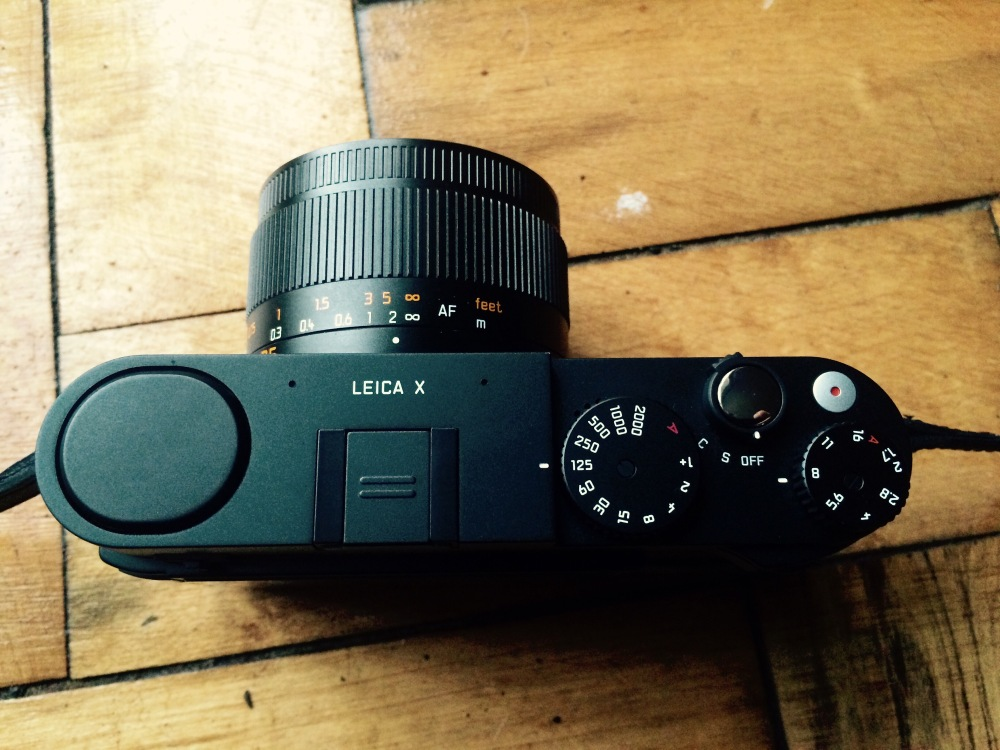 Leica X Top View Review Street Photography Blog UK