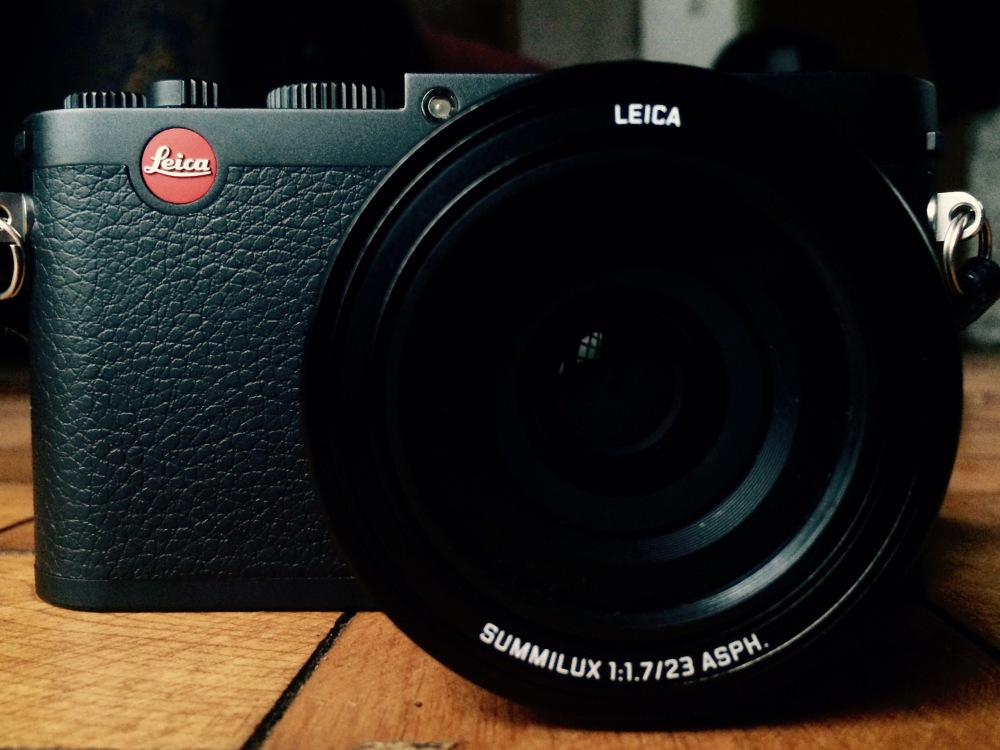 Leica X Front View Review Street Photography Blog UK