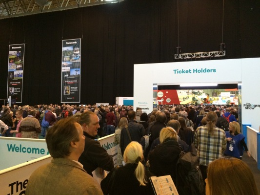 Crowds gather at the 2015 UK Photography Show NEC Street Photography Blog