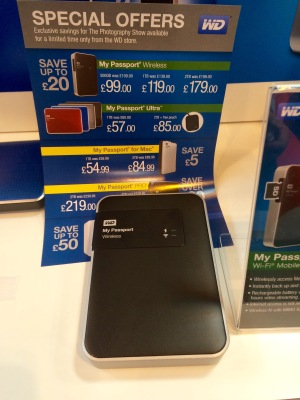 Western Digital My Passport 2TB wireless storage drive