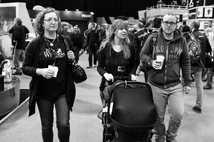 Three In A Row at the UK Street Photography Show Leica X