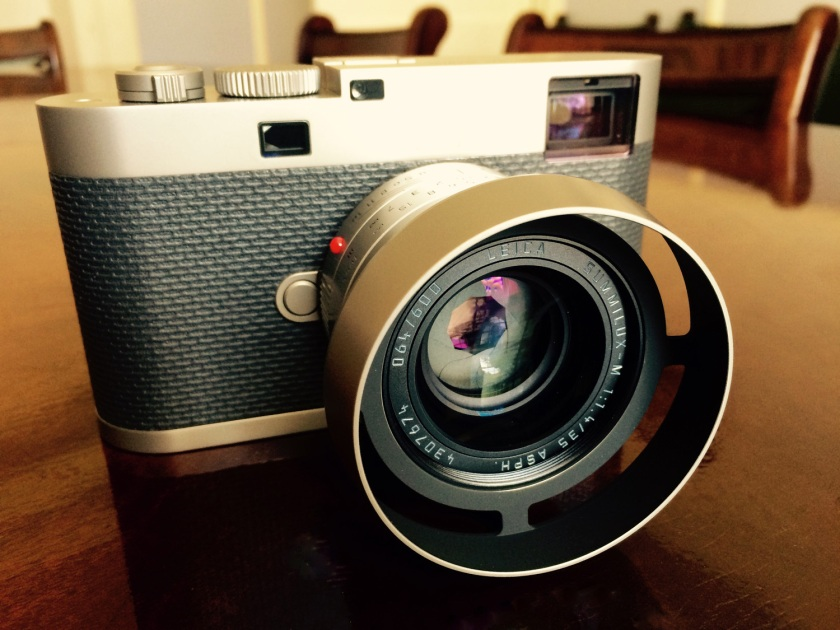Front View of the Leica M Edition 60