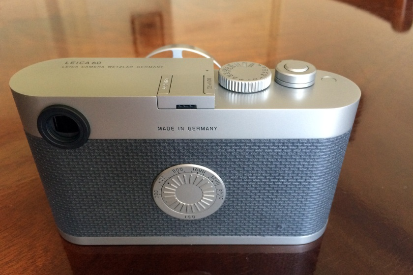 Rear Top View of the Leica M Edition 60