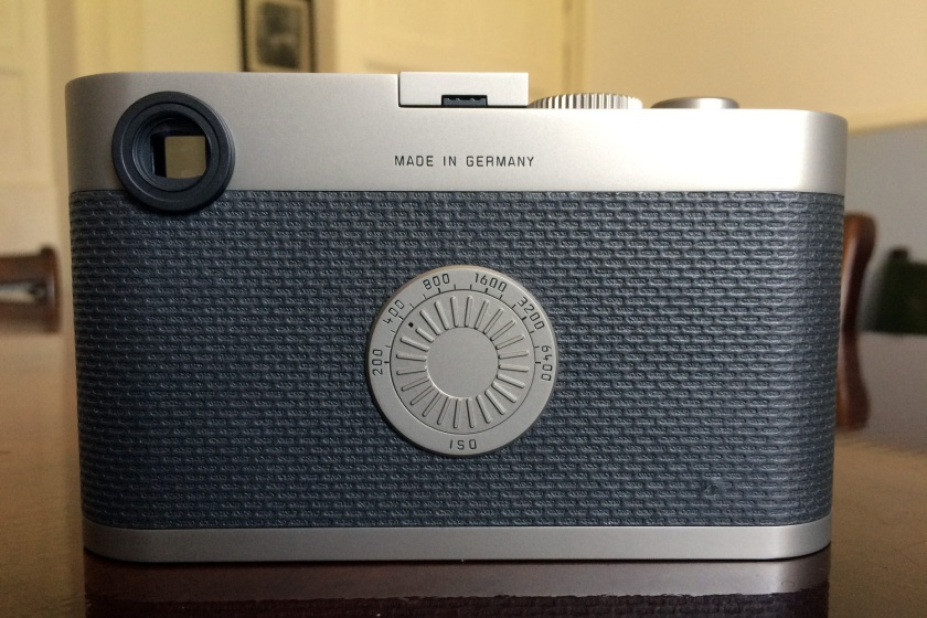 Rear of The Leica M Edition 60