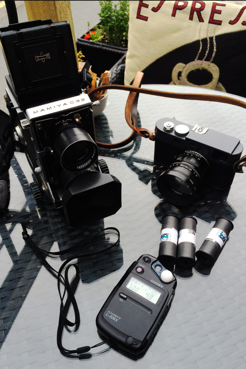 Mamiya C33 TLR Medium Format Camera Street Photography Blog
