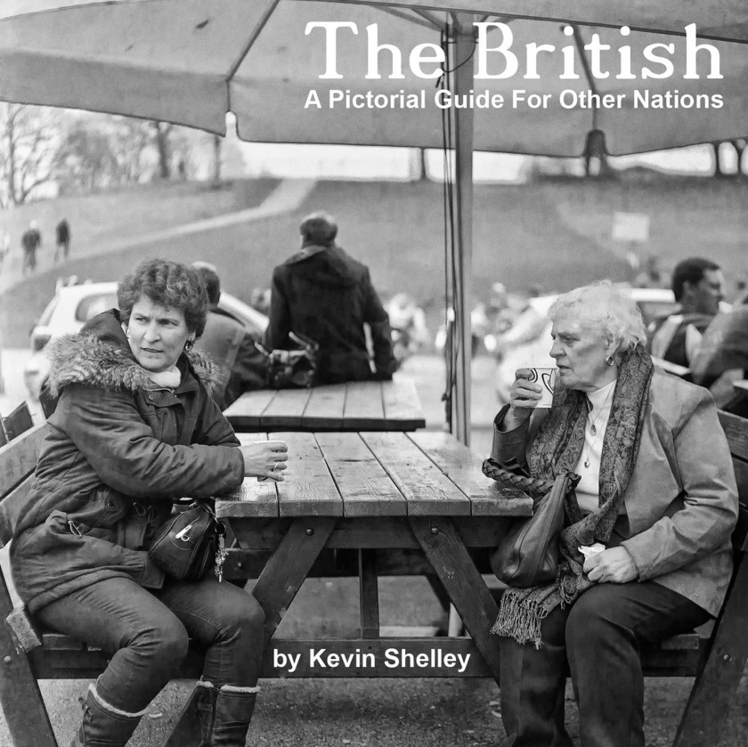 The British - A Pictorial Guide for Other Nations eBook PDF Street Photography Blog UK