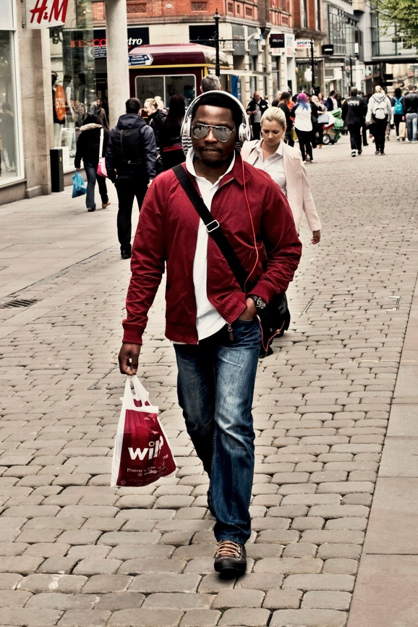 Cool Dude in Shades Machester M Edition 60