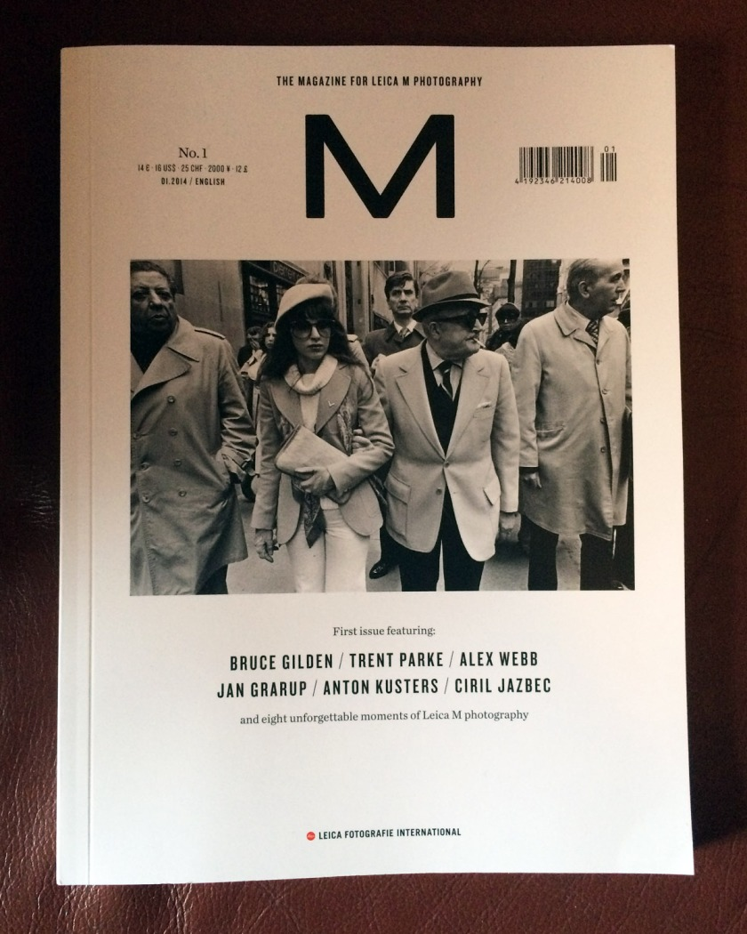 Leica M Magazine First Edition Cover