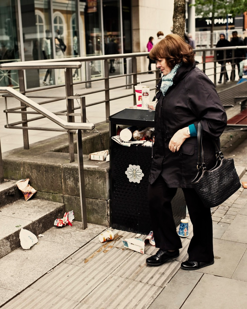 Rubbish on the streets of Manchester Leica M Edition 60