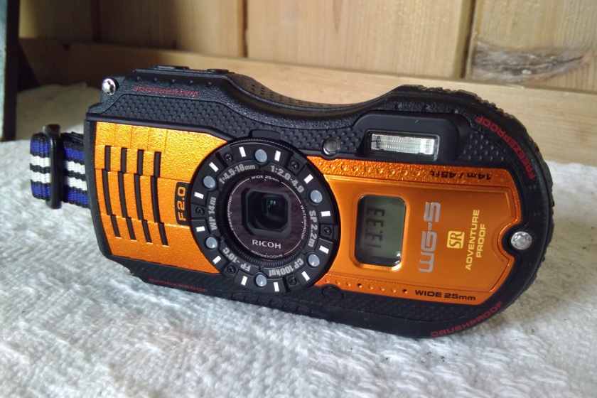 Ricoh WG-5 GPS Rugged Street Photography Camera