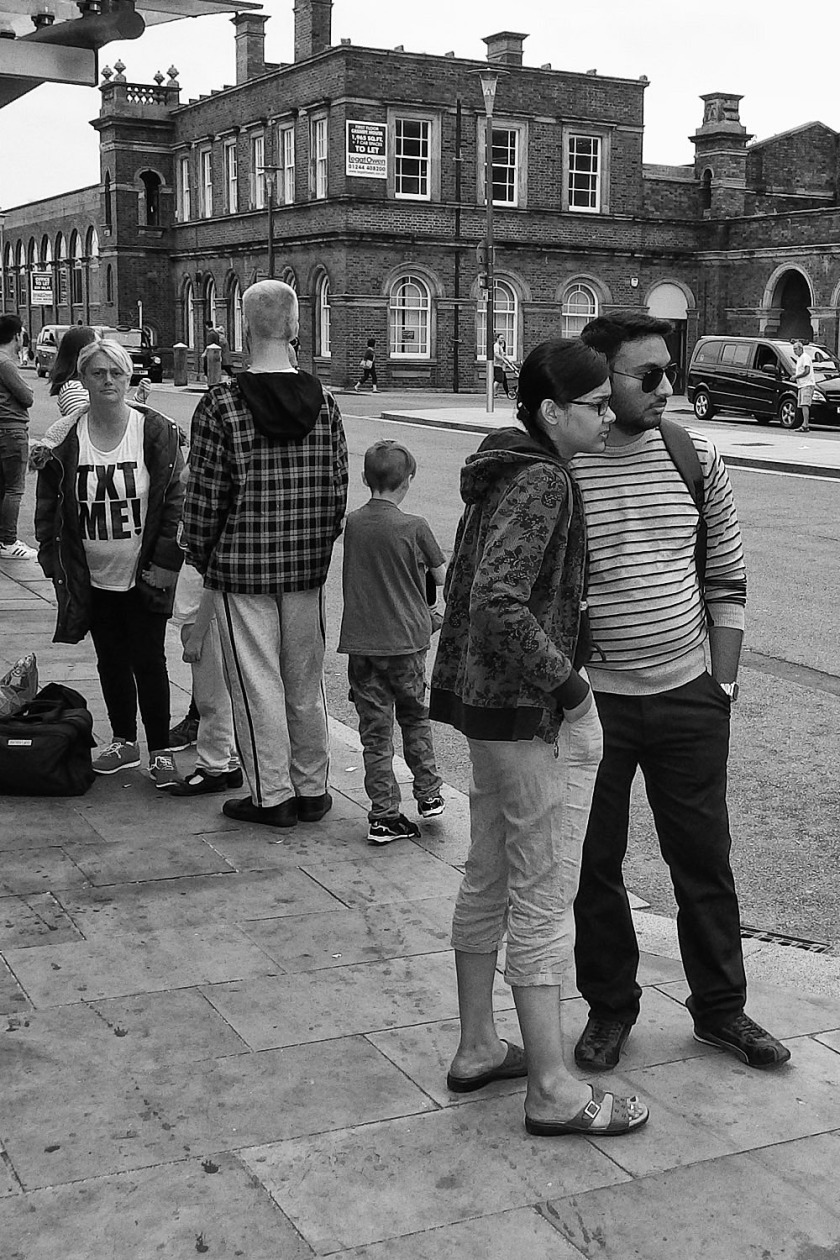 Text Me Street Photography Chester Ricoh WG-5 UK