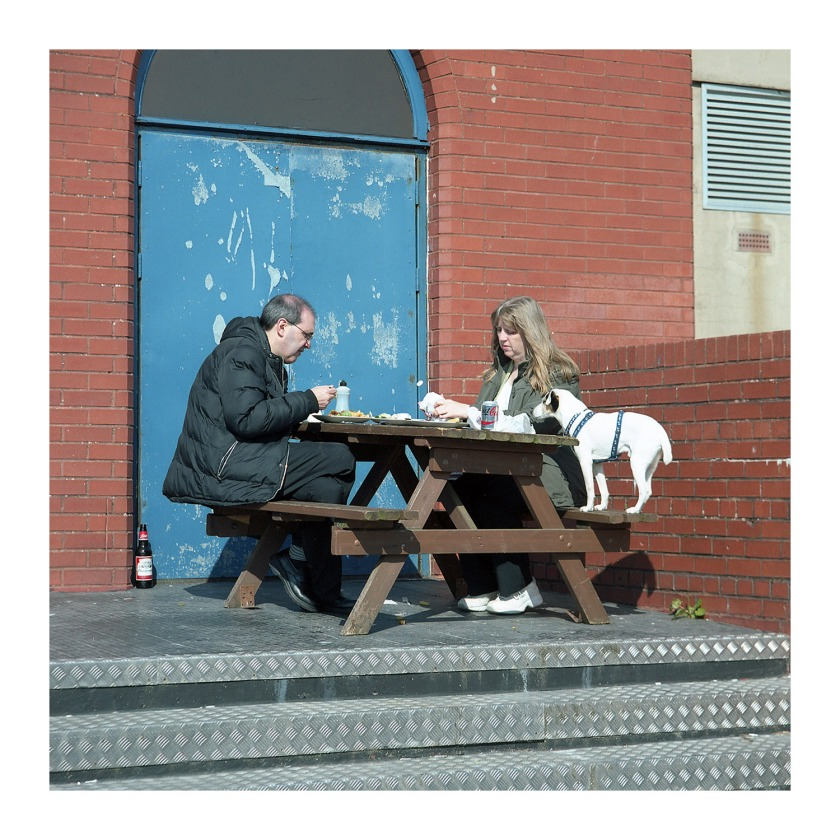 Morecambe Dining Out In Style UK Street Photography Blog Mamiya TLR 135mm