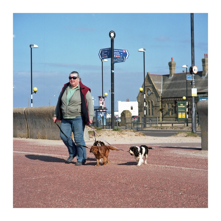 Morecambe For Dogs Street Photography Medium Format 6x6