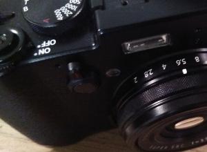 fuji x100t viewfinder selection lever street photography camera blog uk