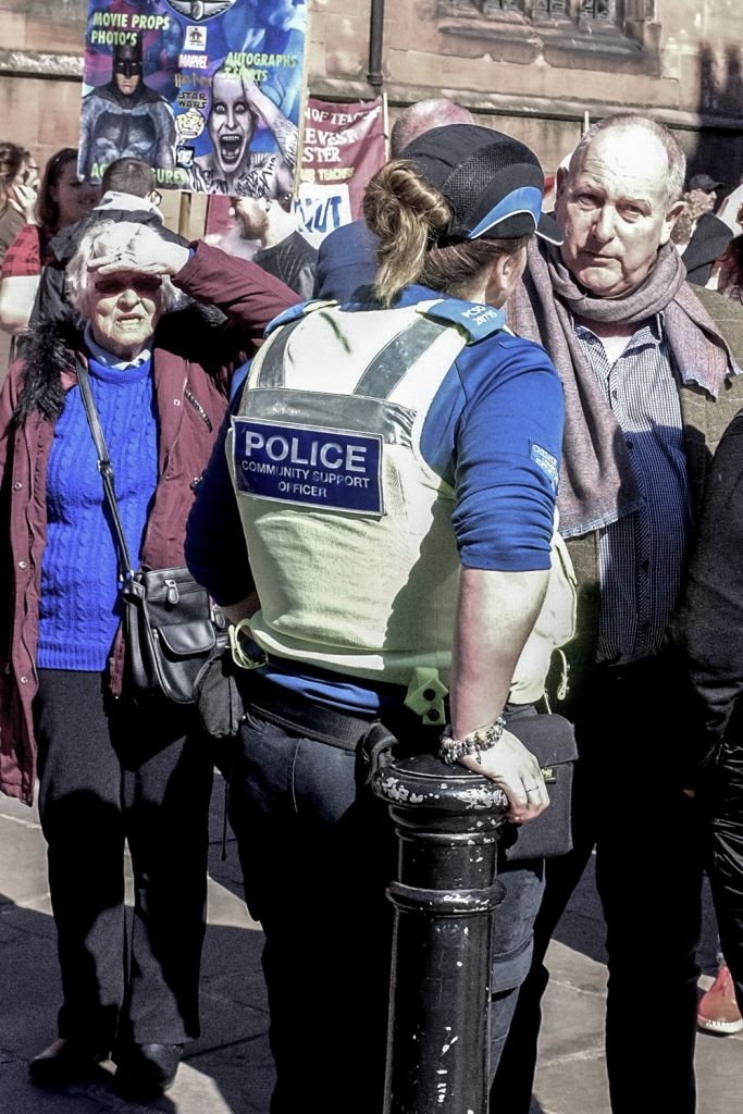 chester uk police community support officer fuji x100t
